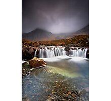 Skye Swirls Photographic Print