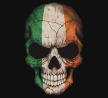 Irish Flag Skull One Piece - Long Sleeve