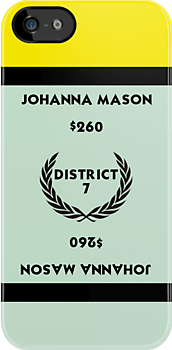 Hunger Games - Monopoly - Johanna Mason by amanoxford