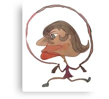 Silly Milly Jumps Rope With Her Big Fat Head Canvas Print