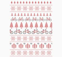 Christmas Jumper Fair Isle for Bikers Unisex T-Shirt