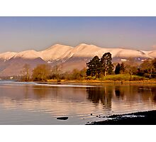 Derwentwater Lake District Photographic Print