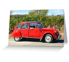 Citroen 2CV - 1975 Greeting Card