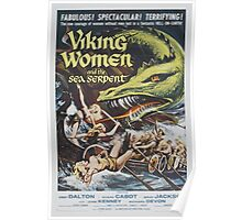 Viking Women and the Sea Serpent Poster