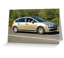 Citroen C4 Greeting Card