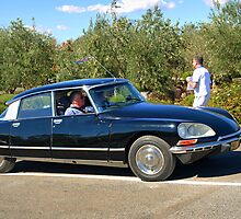 Citroen DS by Geoffrey Higges