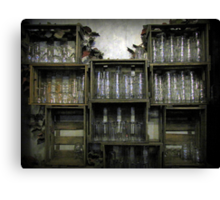 Glass Cabinet Canvas Print