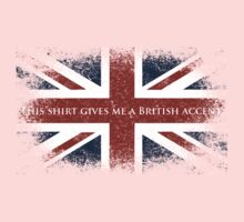 This Shirt Gives Me A British Accent One Piece - Short Sleeve