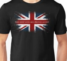 This Shirt Gives Me A British Accent Unisex T-Shirt