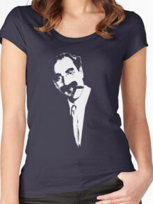 Groucho Women's Fitted Scoop T-Shirt