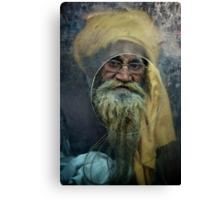 A Turban at the Window Canvas Print