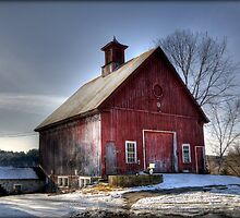 The Red Barn by Monica M. Scanlan
