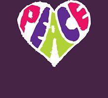 Peace Heart 2 Unisex T-Shirt