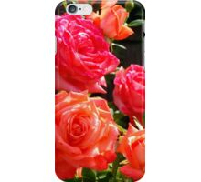 Peach Roses iPhone Case/Skin