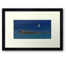 Nautical Panorama ~ Part Two Framed Print