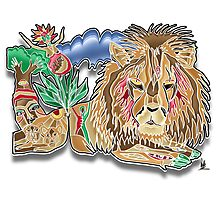 cecil the lion Photographic Print