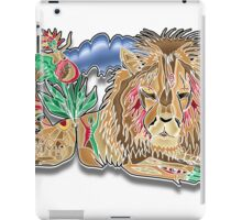cecil the lion iPad Case/Skin