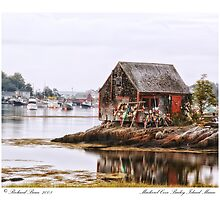 Mackerel Cove Bailey Island Maine by Richard Bean