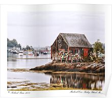 Mackerel Cove Bailey Island Maine Poster