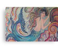 Mermaid of the Deep Canvas Print