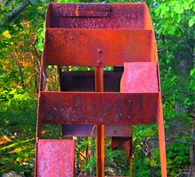 """Rusted Water Wheel"" [a] by dreamNwish"
