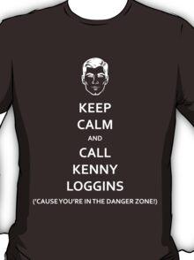 Danger Zone! (White Fill) T-Shirt