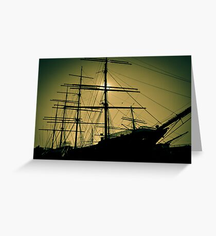 Peking Windjammer Greeting Card