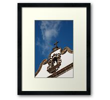Church tower Framed Print