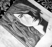 Pencil sketch .. mY favourite by Annie Datta