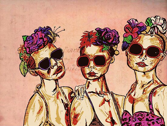 The Three Girls  by CarlyWatts