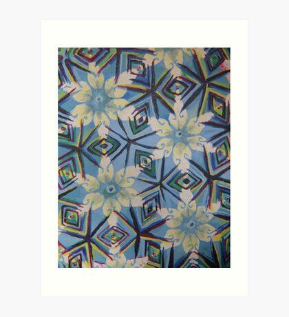Kaleidoscope: Car Window Art Print