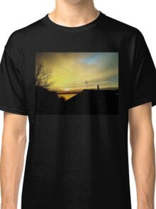 rural sunset Classic T-Shirt