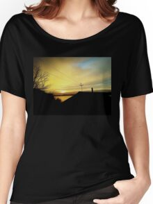 rural sunset Women's Relaxed Fit T-Shirt