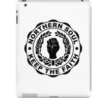 Classic Northern Soul Keep the Faith iPad Case/Skin