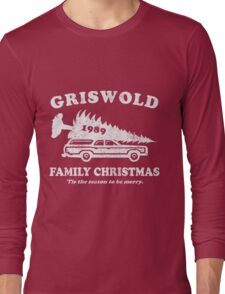 Griswold Family Christmas Shirt Long Sleeve T-Shirt