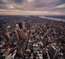 NYC: Manhattan Skyline by Nina Papiorek