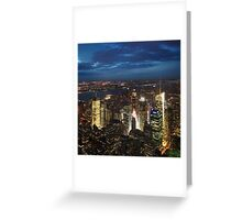 NYC: Times Square Greeting Card