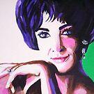Elizabeth Taylor by Dan Wilcox