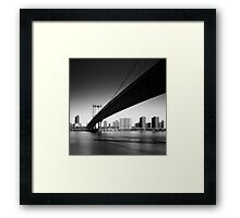 NYC: Manhattan Bridge Framed Print