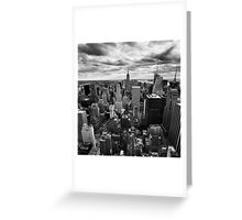 NYC: Skyline Greeting Card