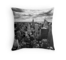 NYC: Skyline Throw Pillow