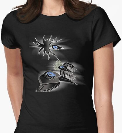 3 crows Womens Fitted T-Shirt