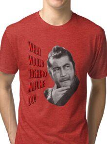 Toshiro Mifune Tri-blend T-Shirt