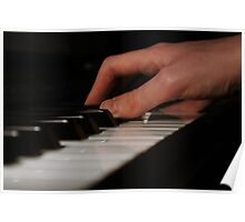 Piano Hands Poster