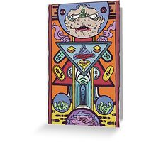 Teleport Greeting Card