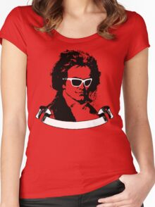 Cool Beethoven Women's Fitted Scoop T-Shirt