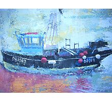 Detail of fishing boat, Rye Harbour Photographic Print