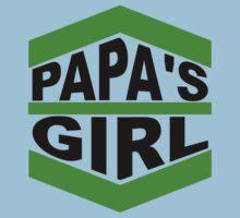 Papa's Girl One Piece - Short Sleeve
