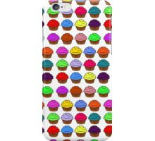 All the cupcakes iPhone Case/Skin