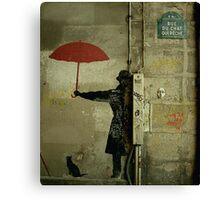 Rue du Chat Qui Peche II Canvas Print